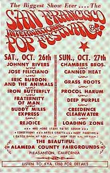 San Francisco Pop Festival 1968
