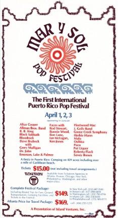 Mar y Sol Pop Festival 1972