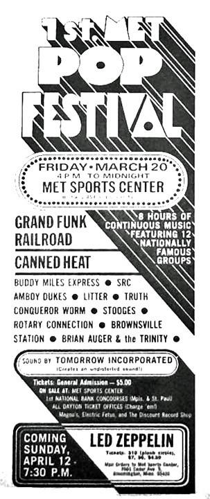 1st Met Pop Festival 1970