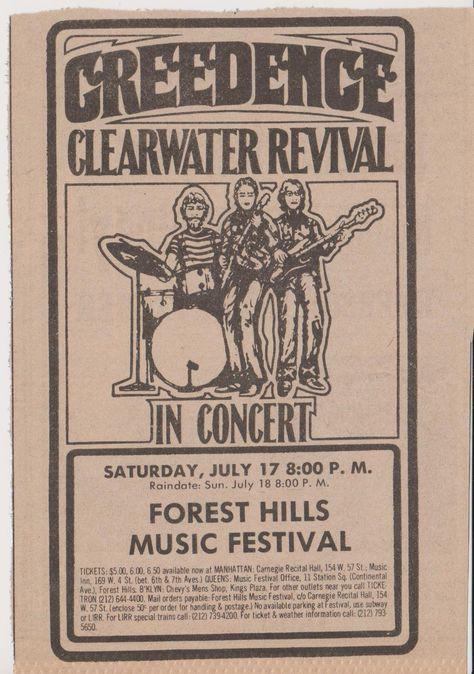 Forest Hills Music Festival 1971