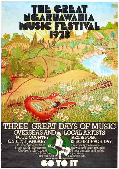 The Great Ngaruawahia Music Festival 1973