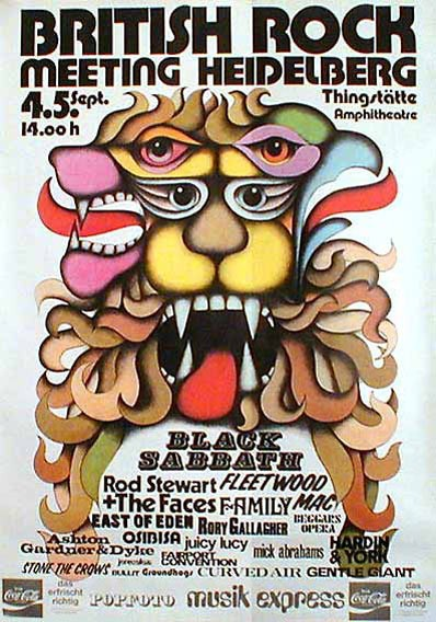 British Rock Meeting 1971