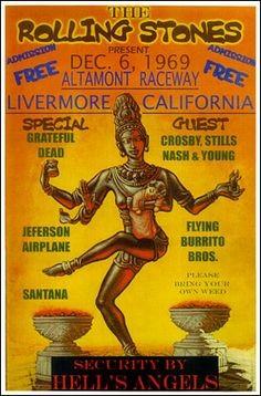 Altamont Speedway Free 1969