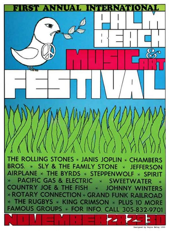 Palm Beach Pop 1969
