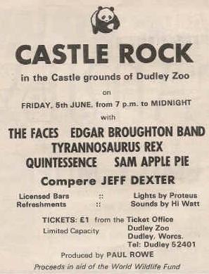 Castle Rock Festival 1970