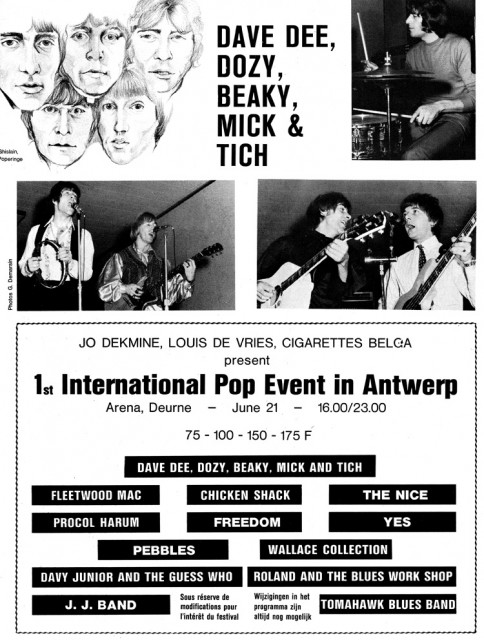 1st International Pop Event 1969