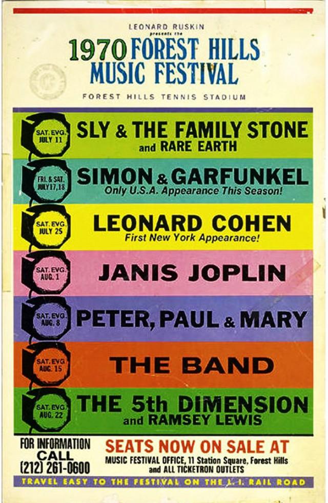 Forest Hills Music Festival 1970