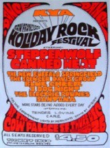 San Francisco Holiday Rock Festival 1968