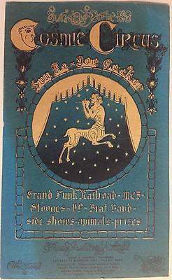 Cosmic Circus 1969