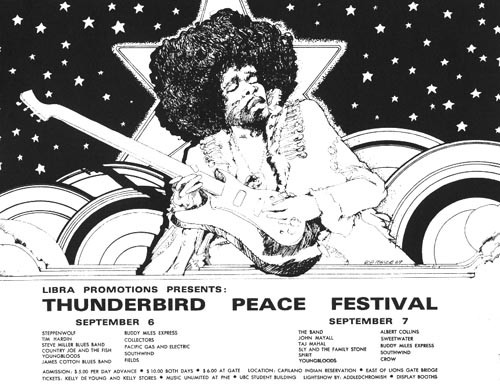 Thunderbird Peace Festival 1969