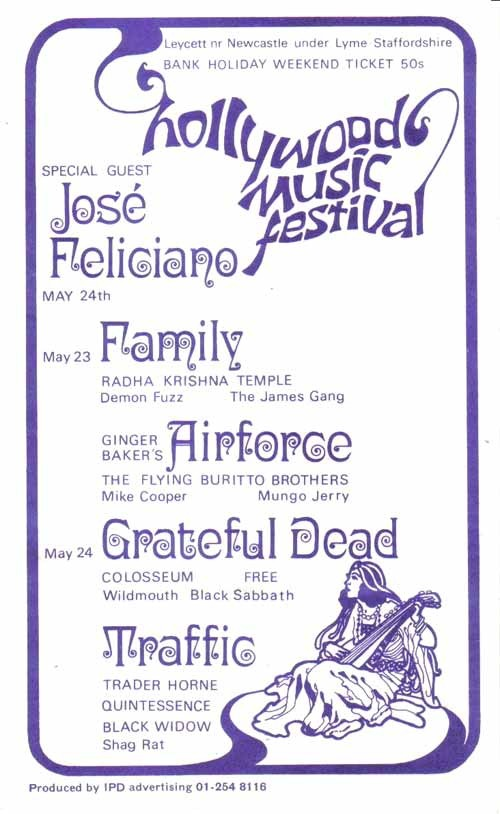 Hollywood Music Festival 1970