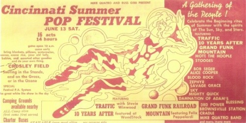 Cincinnati Summer Pop Festival 1970