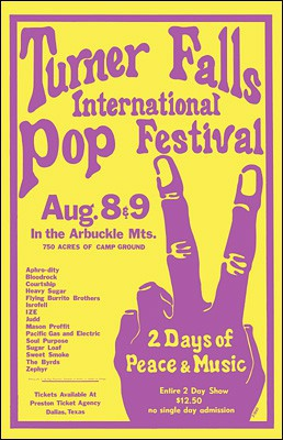 Turner Falls Int. Pop Festival 1970
