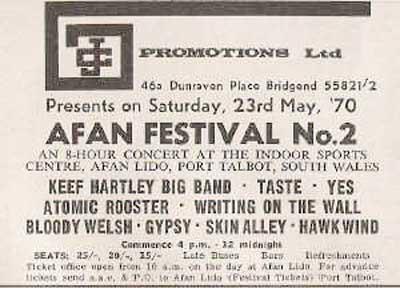 Afan Festival No. 2 1970