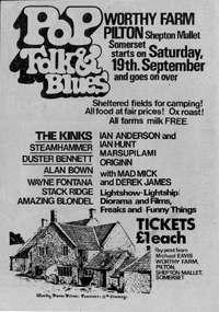 Pilton Festival 1970