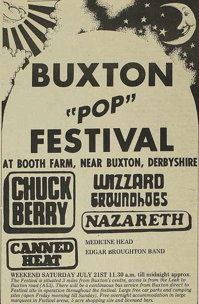 Buxton 'Pop' Festival 1973