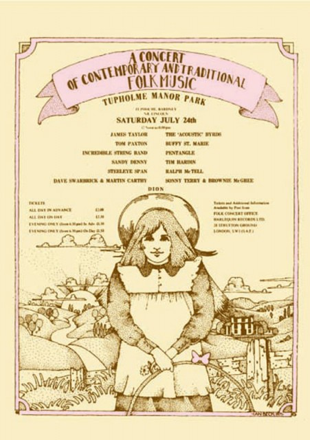 Lincoln Folk Festival 1971