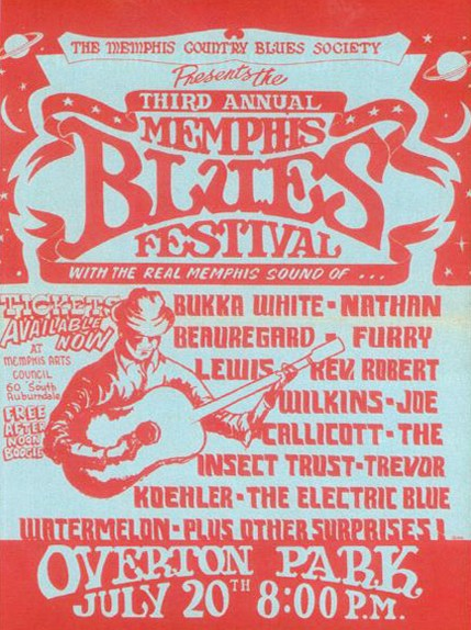 Memphis Country Blues Festival 1968