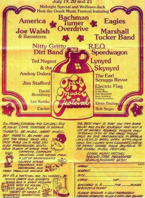 Ozark Music Festival 1974