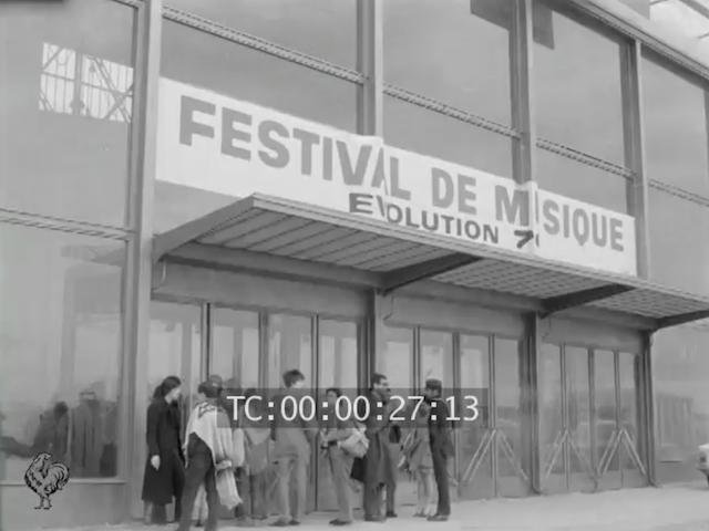 Festival de Musique Evolution 1970