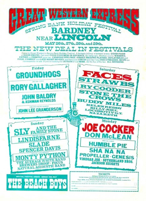 Great Western Express Festival 1972