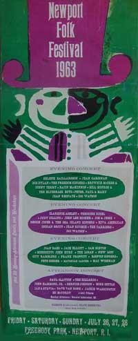 Newport Folk Festival 1963