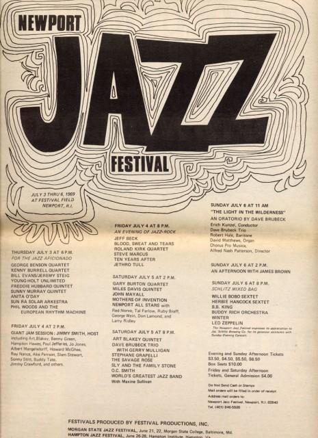 Newport Jazz Festival 1969