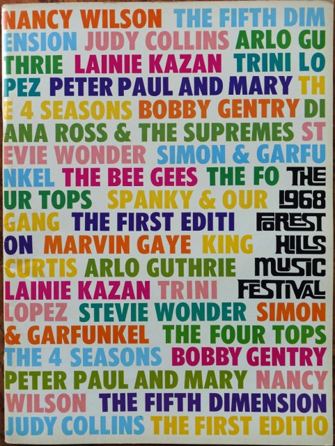 Forest Hills Music Festival 1968