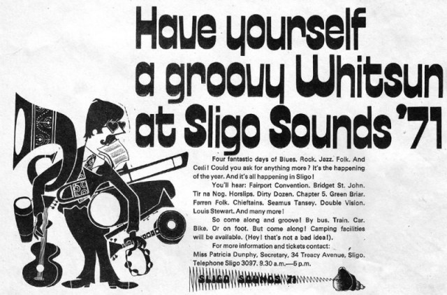 Sligo Sounds Festival 1971