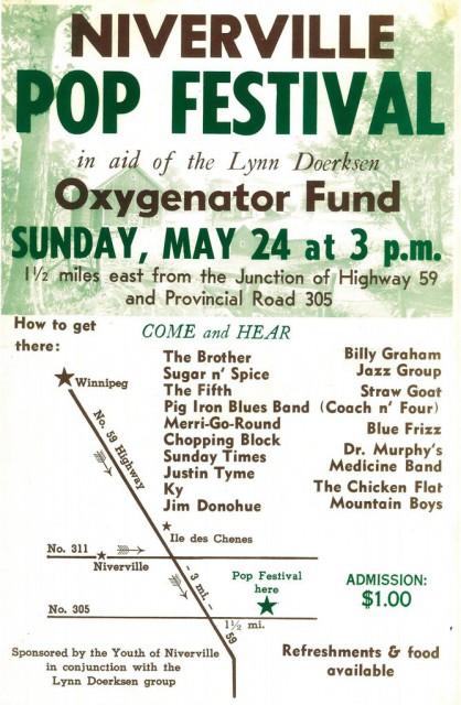 Niverville Pop Festival 1970
