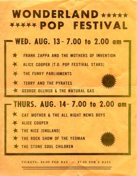 Wonderland Pop Festival 1969