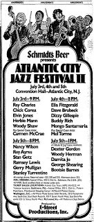 Atlantic City Jazz Festival 1980