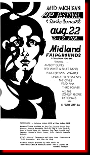 Mid Michigan Pop Festival & Rock Concert 1969