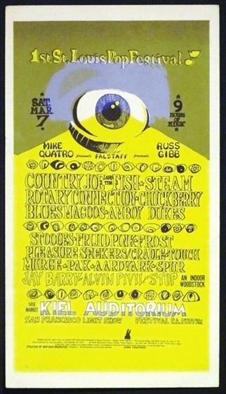 1st St. Louis Pop Festival 1970