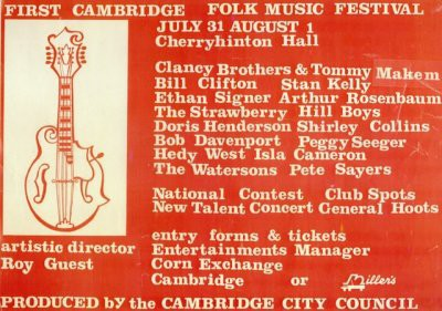 Cambridge Folk Festival 1965