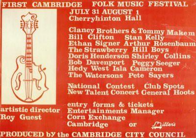Cambridge Folk Festival 1965