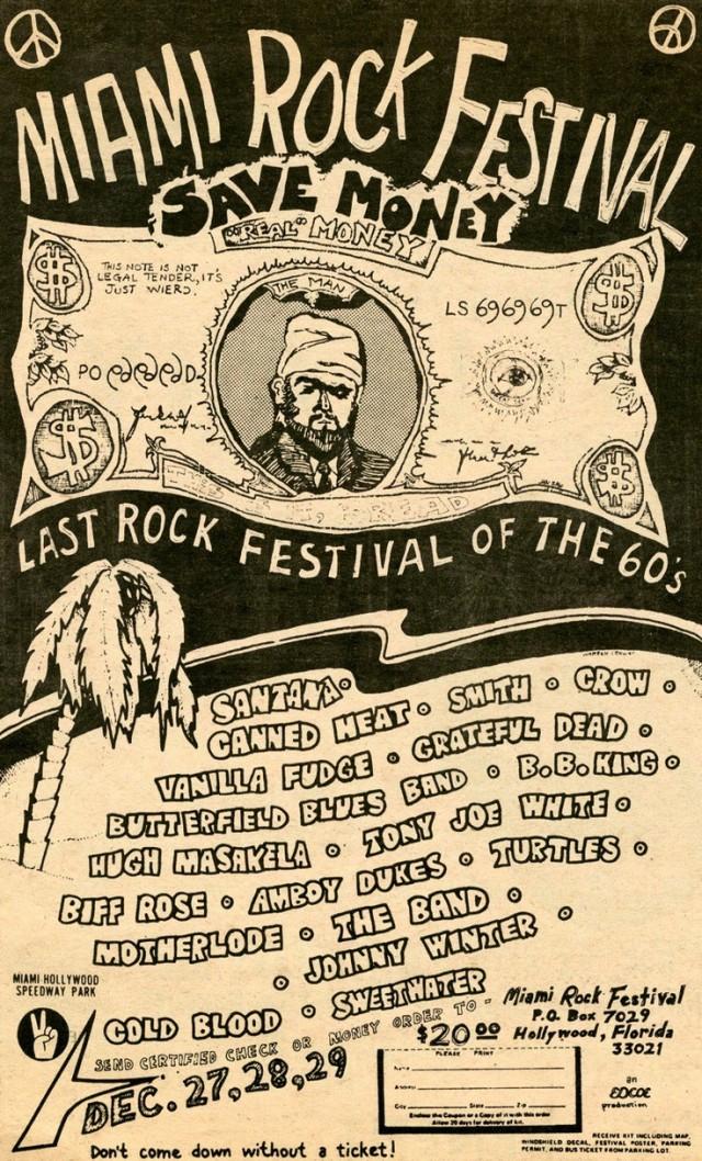 Miami Rock Festival 1969