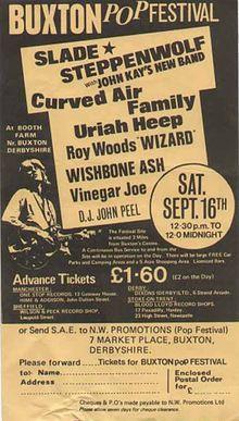 Buxton 'Pop' Festival 1972