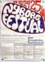 Nyborg Festival 1971 poster