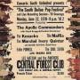 South Dallas Pop Festival 1970 Poster