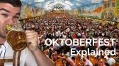 OKTOBERFEST EXPLAINED
