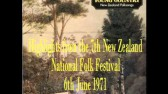7th New Zealand Folk Festival 1971