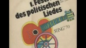 1.Festival des Politischen Liedes — 1970
