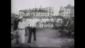Cities in Japan were firebombed. No atomic bombs.  WWII propoganda film by the OWI