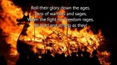 Up Helly Aa - The Up Helly Aa Song (with lyrics)