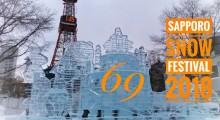 69th Sapporo Snow Festival 2018