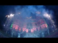 Camp Bestival 2016 Outer Space Fireworks Grand Finale