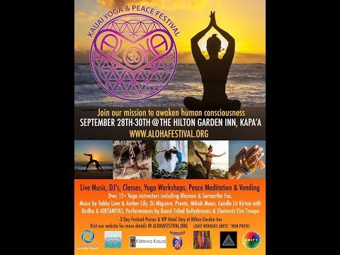 Aloha Kauai Yoga & Peace Festival